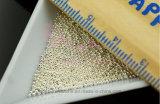 Entwurfs-Silber Carviar Salon-Nagel-Kunst-Maniküre-Dekorationen der 0.8mm kleine Stahlmetallkugel-Raupe-3D (FB-0.8mm silbernes carvia)