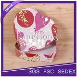 Коробка различного шоколада формы сердца конструкции упаковывая для подарка