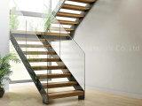 Diseño de madera de la escalera del paso de progresión de las escaleras de Villar