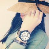 326 grosser Vorwahlknopf-leuchtende Frauen-Uhr-beiläufige Art-Form-Dame Uhr für Verkauf