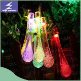 Luz solar de la cadena de la cortina de la boda de la Navidad del LED para el partido del árbol del jardín del día de fiesta