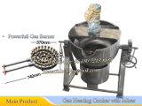 Het Koken van het roestvrij staal het Koken van de Ketel 250liter Capaciteit met Krachtig Gasfornuis