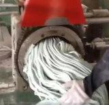 Silikon-Gummi-verdrängengrobfilter mit doppelter Schrauben-Zufuhr