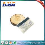 cartão sem contato de 13.56MHz RFID com tira magnética