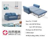 Sofa confortable de dormeur Cum le bâti
