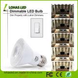 UL Aprobado Reflector LED PAR20 E27 PAR30 PAR38 9W 15W 20W Luz LED PAR