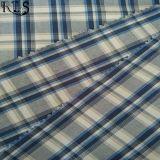 Färbte Baumwollgarn 100% Plaid gesponnenes Gewebe für Hemden/Kleid Rls40-5po