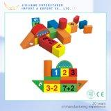 新しい教育おもちゃの子供のための木のブロックの磁気ブロック