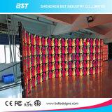 El arco interno de alquiler LED de la pantalla impermeable del fondo de etapa de P6.25 500X1000m m y hacia fuera forma arcos 10 grados