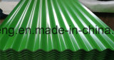高品質の0.14-0.6mm電流を通された鋼鉄屋根ふきシートが付いているSupplingアフリカの市場