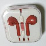 Het hete Verkopende Embleem van de Douane telegrafeerde StereoOortelefoon Earbuds