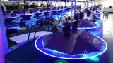 2016 New 25 * 3W UFO LED Effect Lights met zoom