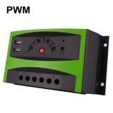 regolatore/regolatore solari astuti automatici della carica di 30A 12V/24V PV con la visualizzazione di LED