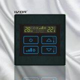 interruptor do toque do termostato do condicionador de ar 4-Pipe no frame plástico (SK-AC2300T-4P)