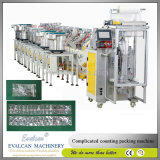 Reboque automático de alta precisão, máquina de empacotamento de pregos e parafusos