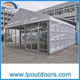 tent van de Opslag van de Markttent van de Gebeurtenis van de Spanwijdte van 10m de Openlucht Duidelijke met ABS Muur en de Muur van het Glas