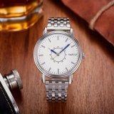 neue Mann-Geschäfts-Quarz-Uhr-Edelstahl-Rückseiten-Uhren der Ankunfts-305-S