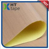 高い抵抗力があるシリコーンの黄色いはさみ金が付いている付着力のテフロンテープ