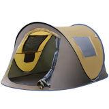 Tente campante automatique extérieure de bateau de tente campante de 3 personnes double