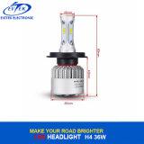 Farol do diodo emissor de luz da lâmpada H4 H/L 6500k S2 Csp do diodo emissor de luz do carro auto para o carro/caminhão