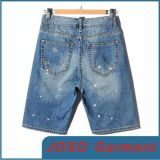 Men Light Wash Denim Shorts (JC3066)
