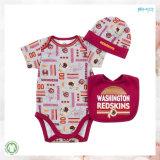 Vestiti All-Over del neonato dei vestiti dell'infante di stampa impostati