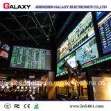 HD LED che fa pubblicità P2/P2.5/P3/P4/P5/P6 alla video visualizzazione di parete fissa dell'interno dell'installazione LED