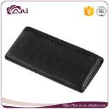 札入れの女性PUの革、黒人女性の札入れ、細く長い財布