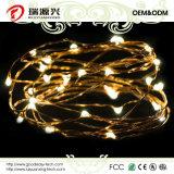 Indicatori luminosi della stringa, fune metallica gialla calda luminosa eccellente di colore Indicatore-Gialla