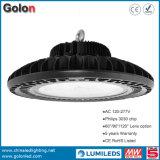 Alto alto indicatore luminoso della corte di tennis della lampada 160W 150W LED della baia di lumen 20800lm