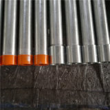 Труба En 39 BS продетая нитку гальванизированная с пластичными крышками и соединением