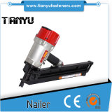 Nailer ручки конструкции 34 градусов пневматический