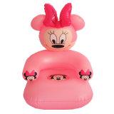 분홍색 색깔 새로운 디자인 PVC 또는 TPU 아기를 위한 팽창식 소파 시트