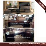 (HX-5DE3673)黒い執行部の机優雅なデザイン現代オフィス用家具
