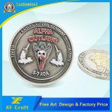 주문 도매 기념품 군 해군 경찰은 금속을 붙인다 도전 동전 제조자 (XF-CO10)를