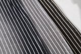 方法デザイン衣服のための編む縞のデニムファブリック