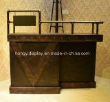 Mesa de recepção de moda para loja de cosméticos, balcão de caixa, mesa de promoção