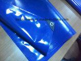 Tessuto rivestito impermeabile poco costoso Tb606 della tela incatramata del PVC