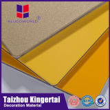 Panneaux de mur composés en aluminium matériels du revêtement le meilleur marché de mur extérieur de largeur d'Alucoworld 2mm-6mm