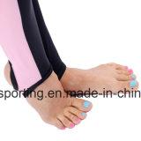 Protetor longo do prurido do `S Lycra das mulheres para o Swimwear, o Sportswear e o desgaste surfando