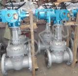 Valvola a saracinesca industriale ad alta pressione elettrica