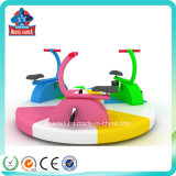 Turntable Bike оборудования спортивной площадки малышей ягнится мягкая игра