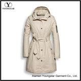 Impermeabile lungo leggero di Packable di pioggia delle donne variopinte del cappotto con il cappuccio