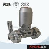 Из нержавеющей стали Пневматический зажим Food Grade Тип мембранный клапан (JN-DV2001)