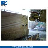 Провод диаманта для вырезывания гранита каменного профилируя