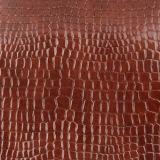 Cuero del PVC de la PU del cocodrilo de Rexine para el equipaje del zapato del bolso