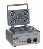 ステンレス鋼の軽食装置機械を作る小型ドーナツグリルかドーナツ