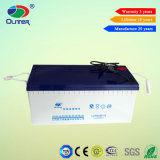 Oliter機能200ah 12Vの鉛酸蓄電池