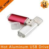 Heiße kundenspezifische Aluminiumgeschäfts-Förderung USB-grelle Platte (YT-1128)