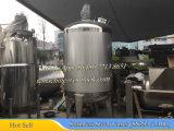 3000L Steam Heating Ss316 Tanque de mezcla (tanque de mezclado para mezcla de jarabe)